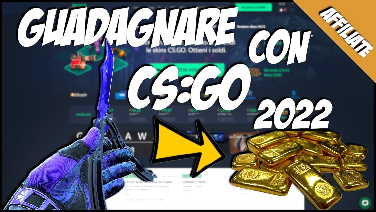 come fare soldi in cs go