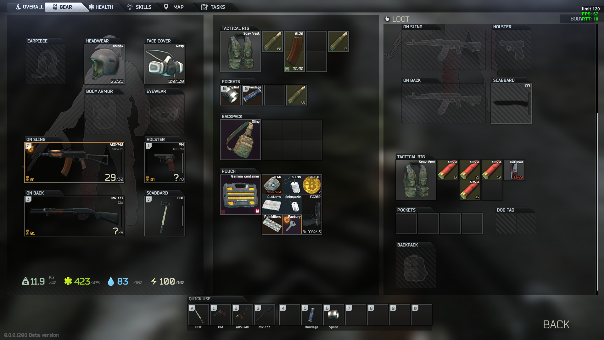 Cheap Escape from Tarkov Items,Fast Delivery, 3 Days Guaranty