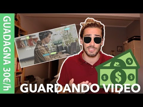 guadagnare per unora di video