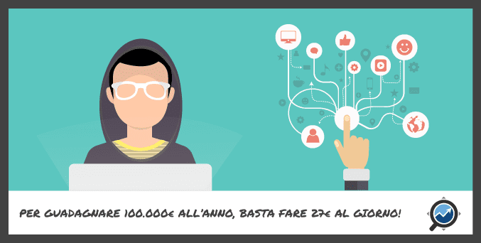 top 100 per fare soldi su Internet