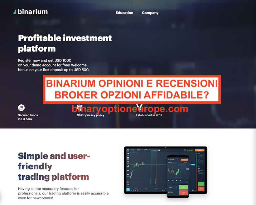 binarium trading di opzioni binarie video)