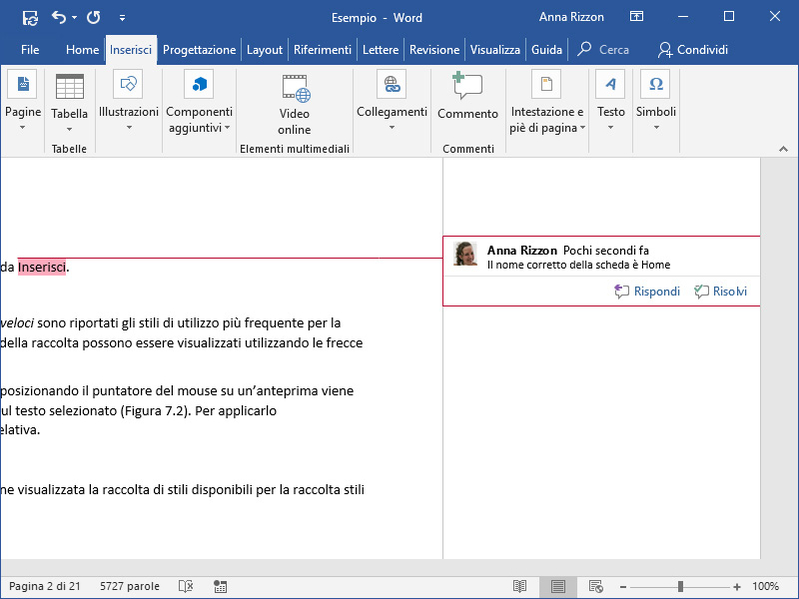Tutorial: come usare le Revisioni di Microsoft Word