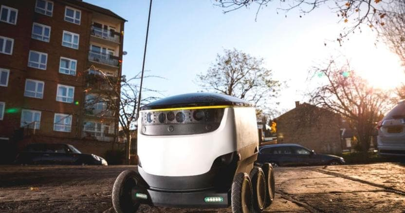 ordinare un robot commerciale