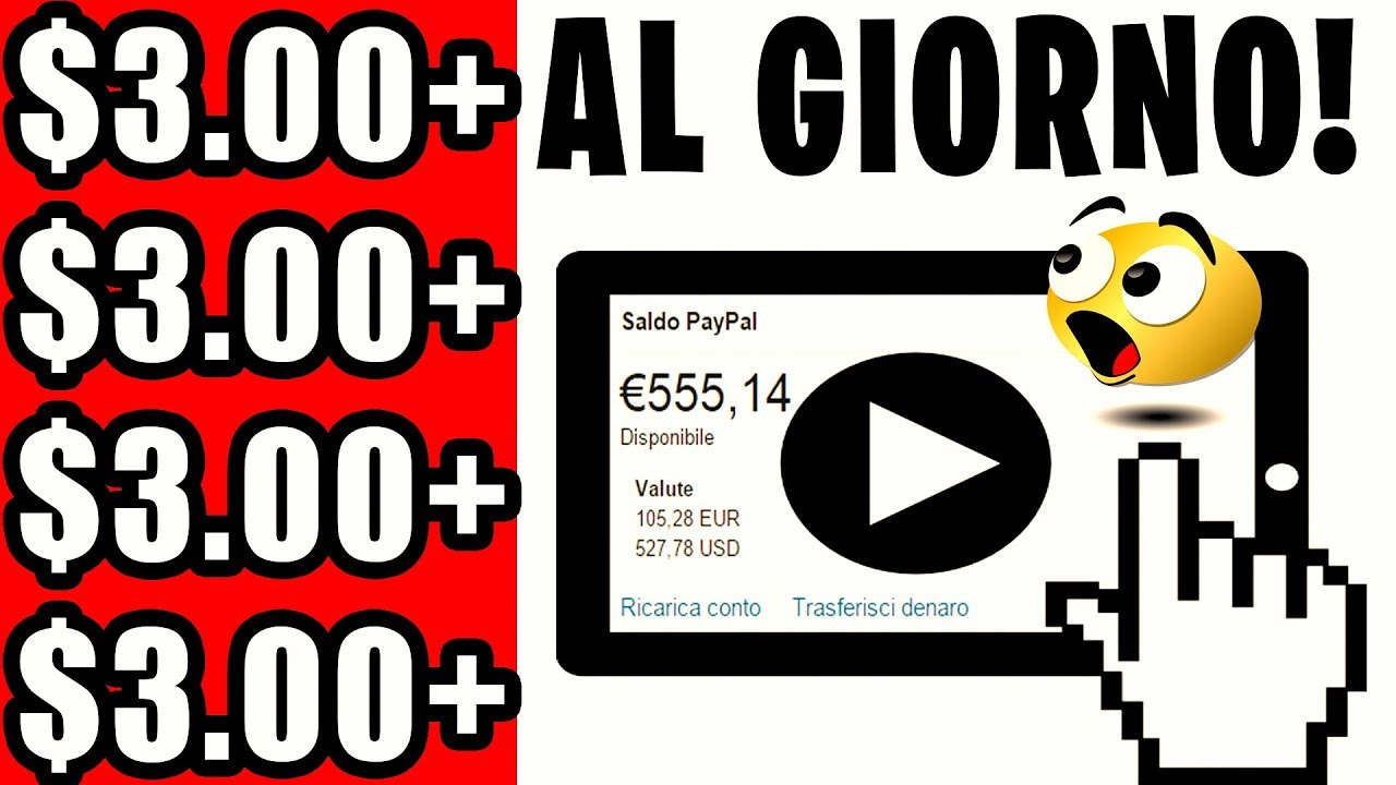 video su come guadagnare soldi veri su Internet